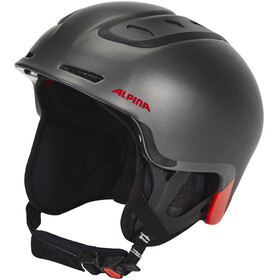 Alpina Spine casco nero